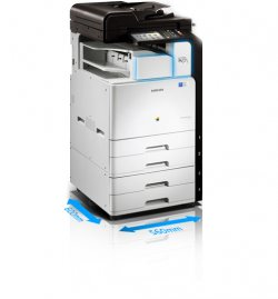 Mono Multifunction Printer (SCX-8123NA)