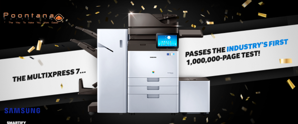 1 Million Pages Tested MX7 Series